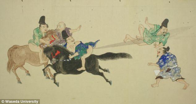 """日本江户时代的""""放屁大战""""浮世绘 - 人在上海  - 中華日报Chinadaily"""