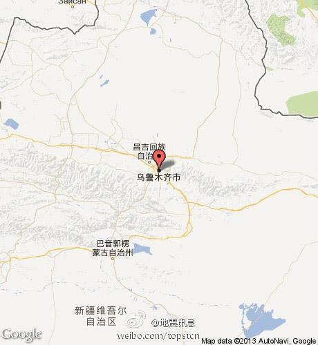 新疆乌鲁木齐发生5.1级地震[10p]