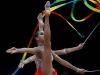 艺术体操集体全能决赛赛况