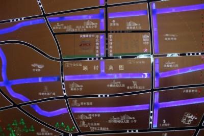 上海中国铁建青秀城交通图图片