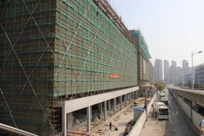 上海爱久家园实景图图片