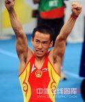 中国体操男团王者归来 肖钦胜利之臂