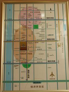 太原山西国际金融中心交通图图片
